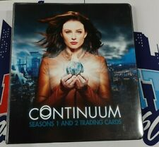 CONTINUUM Seasons 1 and 2 Card Album Binder With Base Set!