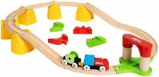 Brio MY FIRST RAILWAY BATTERY OPERATED TRAIN SET Wooden Toy Train