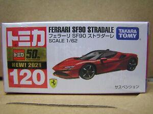 TAKARA TOMY TOMICA DieCast car 1:62 Ferrari SF90 Stradale #120