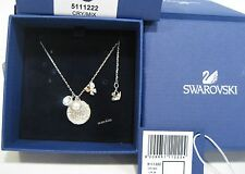 Swarovski Cute Pendant, Butterfly Flowers, Crystal Authentic MIB 5111222
