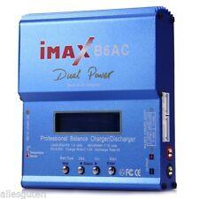 Digital iMAX B6AC Charger LCD Screen RC Lipo NiMh Battery Balance Discharger RC