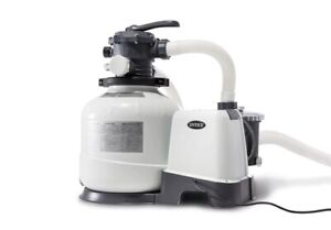 New Genuine Intex 0.6hp SAND FILTER & PUMP Combo for Above Ground Pool 26648