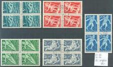 Nederland 508-512 in gebruikte blokken van vier incl 509 PM11 Eur. 13 + 8