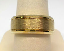 TRITON / FG MEN'S 8.0MM COMFORT FIT GOLD TUNGSTEN WEDDING BAND $329.99