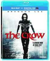 The Crow (Blu-ray/DVD 2-Disc Set + Digital Copy) • NEW • Brandon Lee