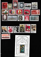 23 timbres de BERLIN Neufs & 1 bloc neufs de 1961 à 1977bon état gomme intacte