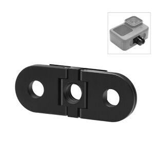 Folding Metal Finger Tripod Mount Adapter for GoPro HERO9 Black/HERO8 Black/Max