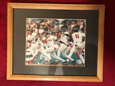 Nomar Garciaparra #5 Boston Red Sox Photofile 2000 MLB Framed Action Photo