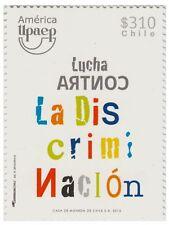 Chile 2013 #2502 Serie America UPAEP Lucha Contra la Discriminacion MNH