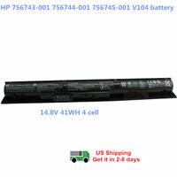 Genuine Battery Laptop HP ProBook 440 445 450 455 G2 756744-001 756479-421 VI04
