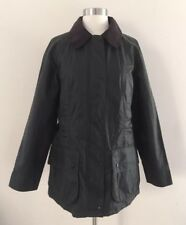NWT $379 Women Barbour for JCrew Collab Beadnell Jacket 8 Sage Green Coat 49175