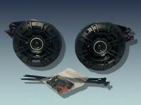 "2013+ Polaris Ranger FULLSIZE MIDSIZE Rear 4""Kicker Speakers ALL PRO FIT ROPS"