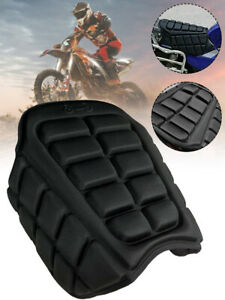 Motorcycle 3D Air Comfort Gel Seat Cushion Universal Pad Cover Pressure Relief