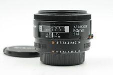 Nikon Nikkor AF 50mm f1.4 Lens 50/1.4                                       #554