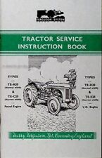 1947-1956 Ferguson TE Tractor Owner Instruction Manual Book te A20 C20 D20 E20