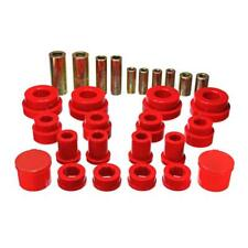 Energy Suspension Control Arm Bushing Kit 7.3121R; Red for Nissan, Datsun 350Z