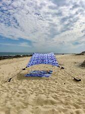 Neso Tents Beach Tent with Sand Anchor, Portable Canopy Sun Shelter (Shibori)