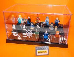 BRICKLIGHTacrylic model display case box for LEGO Mini figures minifigures