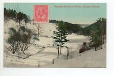 CANADA carte postale ancienne TORONTO  2 Rosedale ravine in winter