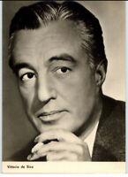 DDR Starfoto Kino Fernsehen Film Schauspieler Actor 1966 Vittoria de Sica Photo