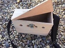 FERRET CARRY BOX SMALL SINGLE POACHERS BOW BACK BOX