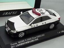 "1/43 Rai's TOYOTA MARK X 250G FOUR (GRX135) ""YAMANASHI"" #10 PATROL 2011"