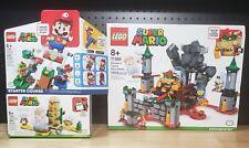 Lego Super Mario Bowsers Castle Boss Battle & Desert Pokey 71360 71369 71363