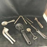 Lot of 9 Vintage Kitchen Utensil Gadget Retro EKCO Vaughan HMQ