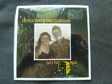 STEPHEN ROWE & TANIA KERNAGHAN LET'S FALL IN LOVE AGAIN NEW SEALED CD SINGLE!