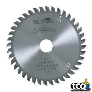 Mafell TCT Saw Blade for KSS 300 | KSS 40 - 120x20x1.8 - 40 Teeth - 092578