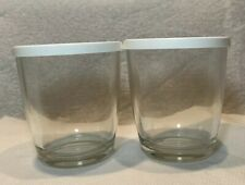 Vintage Thriftee Yogurt Maker Model TY-66 Replacement Parts 2 Cups w/ Lids