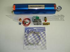 Canton 2 Quart Two QT Accusump Oil Accumulator Kit PRO EPC Electric Valve 20-25