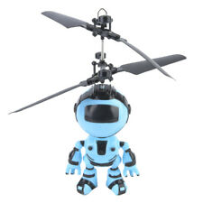 RC Hand Inductive Flying Robot Aircraft Infrared Induction Kids Fly Recharge Toy
