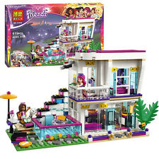 Girl Friends Livi's Pop Star House Building Blocks 619PCS Bricks Gift Toys