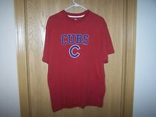 CHICAGO CUBS  MLB FADE LOOK SHIRT MEN'S LARGE  90% COTTON