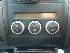 Nissan Navara D40 Climate Controls