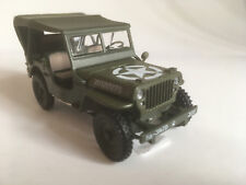 jeep willys 4x4 Soft Top , CARARAMA auto modèle 1:43 (4-90180)