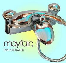 Mayfair Brassware Amber Bath Shower Mixer Chrome/Gold - AMB09