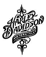 Harley Davidson Sticker - Vinyl Decal - Motorcycle Vehicle Window Wall Car Truck