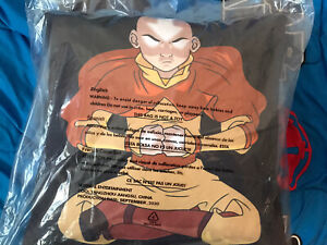 AVATAR: THE LAST AIRBENDER AANG PILLOW NEW