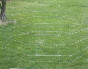 Brand New 8 Panel Pet Dog Cat Rabbit Playpen Enclosure Exercise Cage Fence*ED502