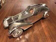 1936-37 BUGATTI ATLANTIC Polished Aluminum Model RARE Type 57S 57SC Ralph Lauren