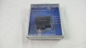 Kensington 4-Port USB AC Power Adapter for Mobile Devices - 2A 5V DC (38035)