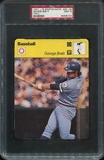 1977-1979 Sportscaster #38-09 (Italy) George Brett PSA 9