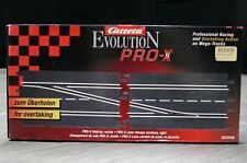 SLOT CAR Carrera EVOLUTION Pro-X Left Lane Change Sections NEW 1/24 SCALE