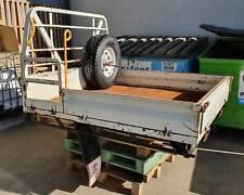 Toyota Landcruiser 79 series VDJ79 Dual cab steel tray