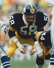 JACK LAMBERT 8X10 PHOTO PITTSBURGH STEELERS PICTURE NFL FOOTBALL #58