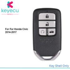For Honda Civic CR-V Accord 2013- 2017 Smart Remote Car Key Shell Case Fob 4B