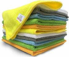 """iCooker 12 Pack Microfiber Clothes Cleaning Supplies 15 x 12 """" Cleaning Towels"""