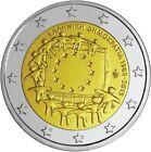 GRECIA 2 euros 2015 XXX Aniversario Bandera Europea S/C GRECEE